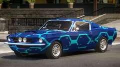 1967 Shelby GT500 V1.0 PJ2 para GTA 4