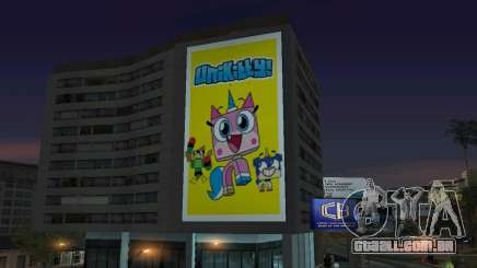New Unikitty Poster On Building para GTA San Andreas