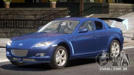Mazda RX8 Tuning para GTA 4