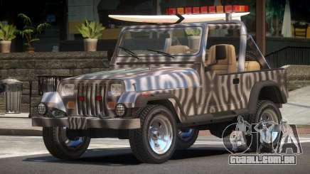 1988 Jeep Wrangler PJ4 para GTA 4
