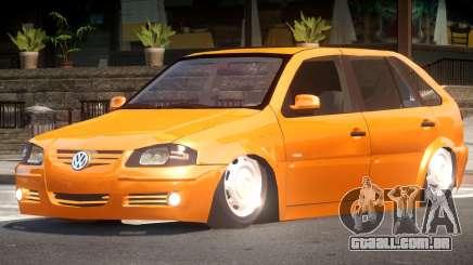Volkswagen Gol G4 Custom para GTA 4