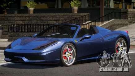 Ferrari 458 Roadster GT para GTA 4