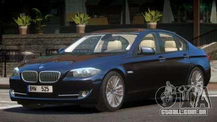 BMW 525 F10 V1.0 para GTA 4