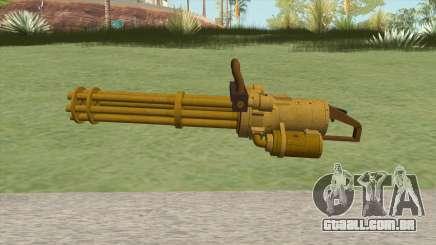 Coil Minigun (Gold) GTA V para GTA San Andreas