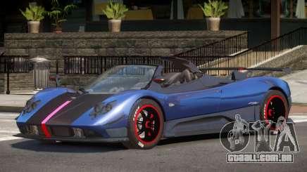 Pagani Zonda Spider V1.1 para GTA 4