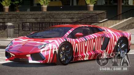 Lamborghini Aventador SS PJ5 para GTA 4