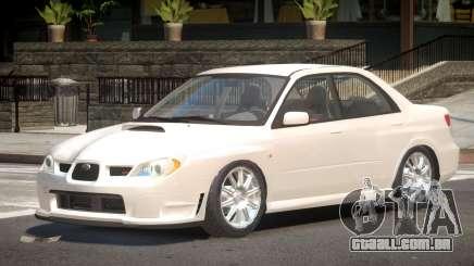 Subaru Impreza WRX V1.0 para GTA 4