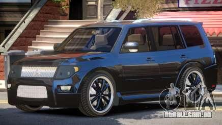 Mitsubishi Pajero Tuned para GTA 4