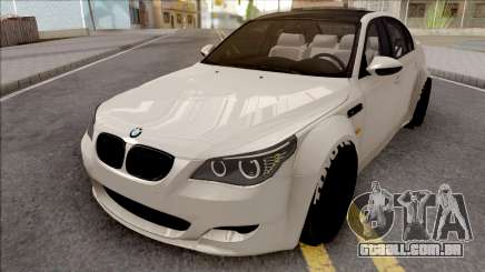 BMW M5 E60 Wide Body para GTA San Andreas