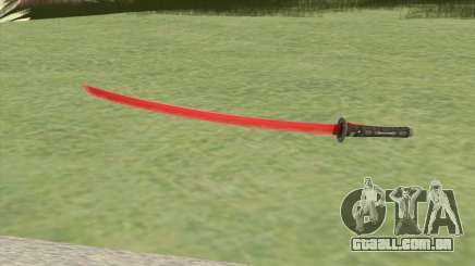 Red Katana (HQ) para GTA San Andreas