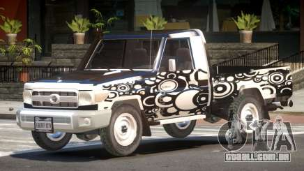Toyota Land Cruiser PJ3 para GTA 4