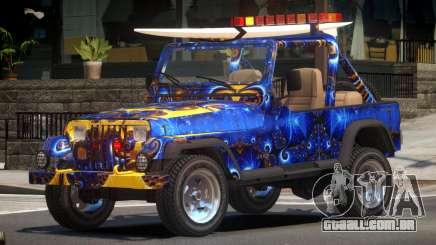 1988 Jeep Wrangler PJ3 para GTA 4