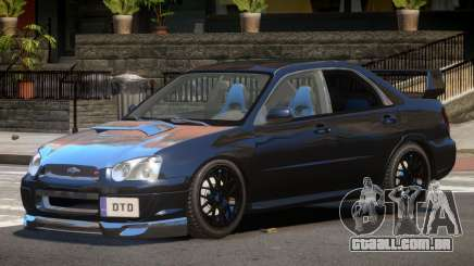 Subaru Impreza WRX Tuning para GTA 4