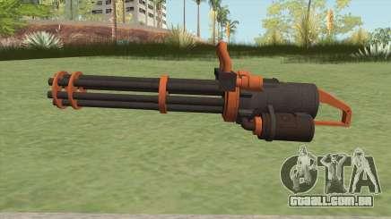 Coil Minigun (Orange) GTA V para GTA San Andreas
