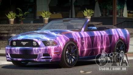 Ford Mustang GT Cabrio PJ2 para GTA 4