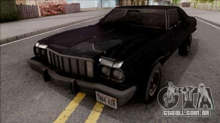 Ford Gran Torino 1974 Black para GTA San Andreas