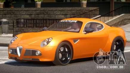 Alfa Romeo 8C V1.0 para GTA 4