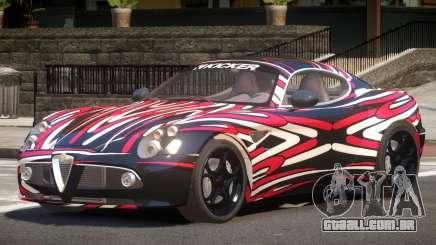 Alfa Romeo 8C V1.0 PJ5 para GTA 4