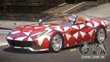 Ferrari F12 Spider PJ2 para GTA 4
