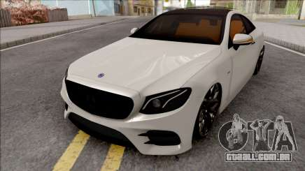 Mercedes-Benz E350D Coupe C238 2017 SlowDesign para GTA San Andreas