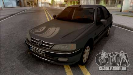 Peugeot Pars with Dashboard ELX para GTA San Andreas