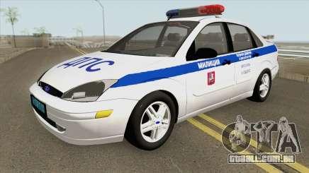 Ford Focus 2011 (Russian Police) para GTA San Andreas
