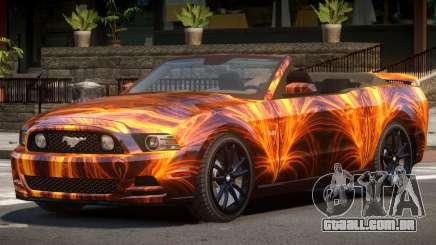 Ford Mustang GT Cabrio PJ1 para GTA 4