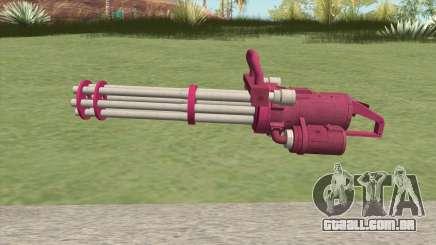 Coil Minigun (Pink) GTA V para GTA San Andreas