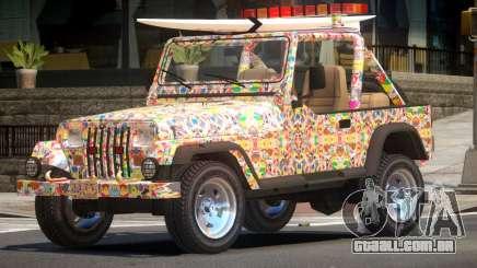 1988 Jeep Wrangler PJ5 para GTA 4