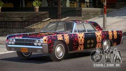 1961 Lincoln Continental PJ4 para GTA 4