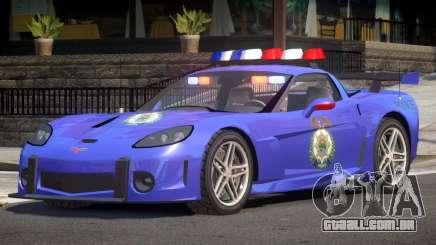 Chevrolet Corvette Police V1.2 para GTA 4
