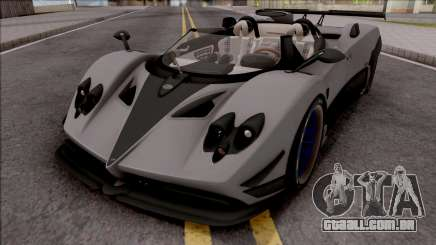 Pagani Zonda HP Barchetta 2018 para GTA San Andreas