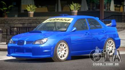 Subaru Impreza WRX Sport para GTA 4