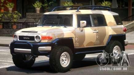 Toyota FJ Cruiser PJ2 para GTA 4