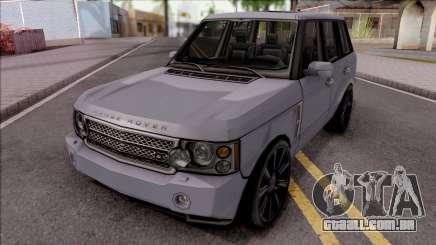 Land Rover Range Rover Superchargered 2008 v1 para GTA San Andreas