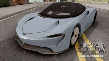 McLaren Speedtail 2019 para GTA San Andreas
