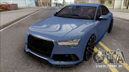Audi RS7 Blue para GTA San Andreas