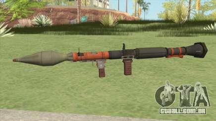 Rocket Launcher GTA V (Orange) para GTA San Andreas