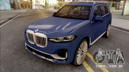 BMW X7 2020 Low Poly para GTA San Andreas