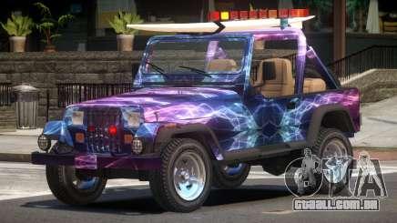 1988 Jeep Wrangler PJ2 para GTA 4