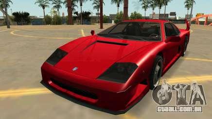 Grotti Turismo com Emblemas e Extras para GTA San Andreas