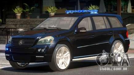 Mercedes GL450 Police V1.0 para GTA 4
