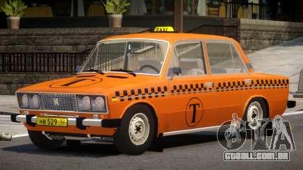 VAZ 2106 Taxi V1.0 para GTA 4