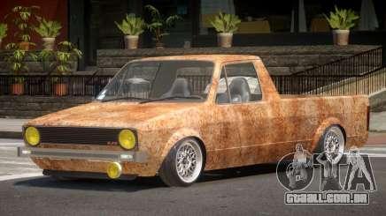 Volkswagen Caddy PJ2 Rusty para GTA 4