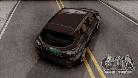 Nissan Qashqai IVF v2 para GTA San Andreas