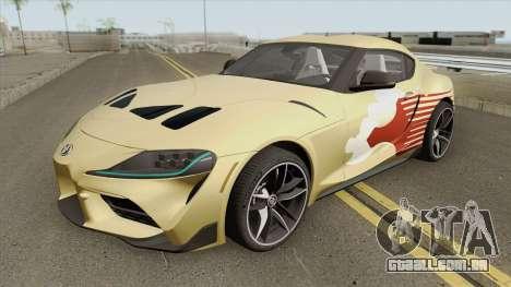 Toyota GR Supra 2020 para GTA San Andreas