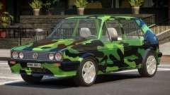 Volkswagen Golf Old PJ3 para GTA 4
