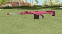 Heavy Sniper GTA V (Pink) V2 para GTA San Andreas
