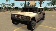 Mamute Patriota Civil, com emblemas e extras para GTA San Andreas