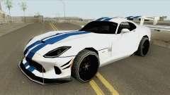 Dodge Viper ACR (Extreme Aero) 2016 para GTA San Andreas